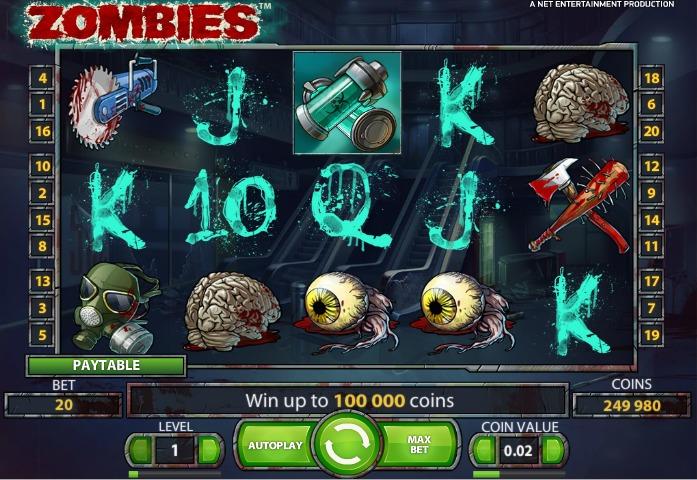 игровые автоматы зомби играть бесплатно